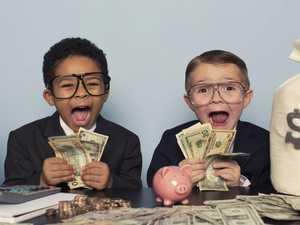 Aussie kids better savers than  parents