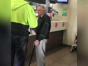 Tradies selfless act at McDonalds