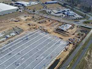 WATCH: Bird's eye view of Costco's massive Ipswich build