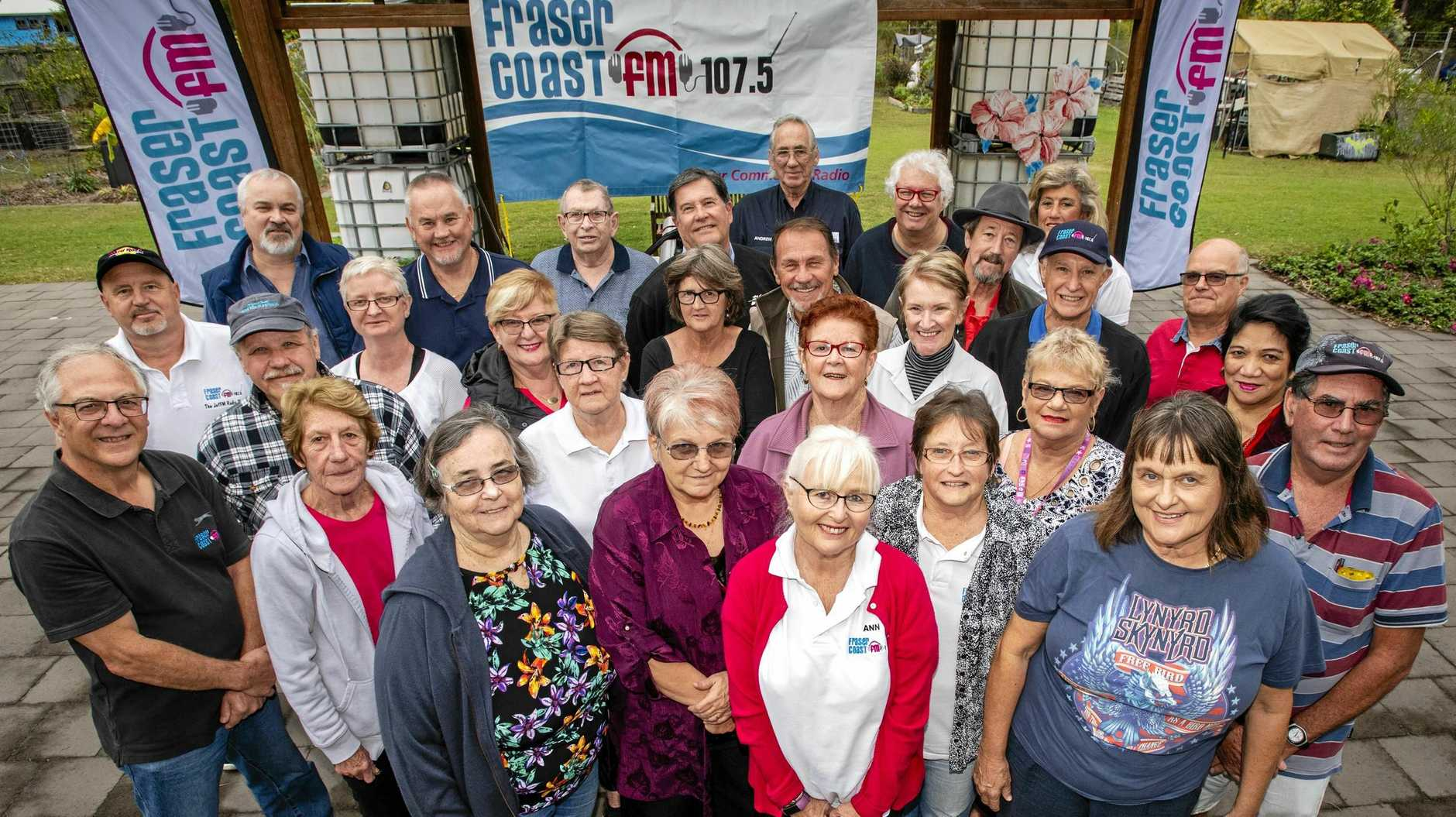 WALKING ON AIR: Fraser Coast FM 107.5 has been entertaining the Hervey Bay region by providing music, local information and news for 25 years.