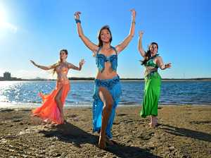 Belly dancers release the power of women