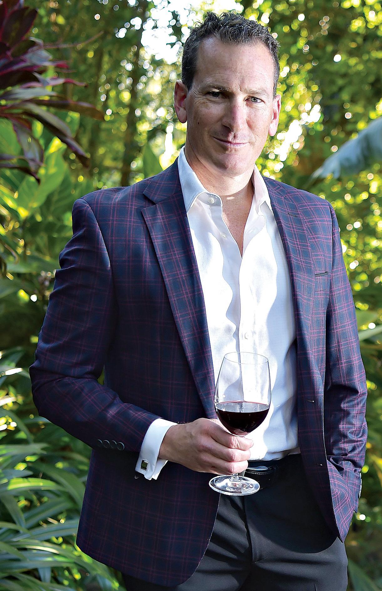 Wine expert Travis Schulz.