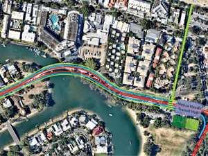 Transit lanes plan for Noosa Parade