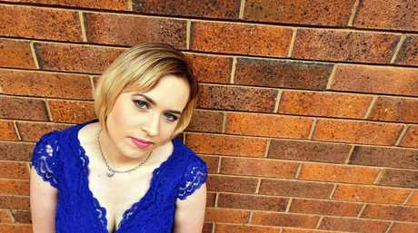 CITY SINGER: Cassie Midgley is surging ahead with her singing career after having a baby.