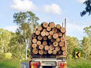 Log truck mishap lands man in Gympie Hospital