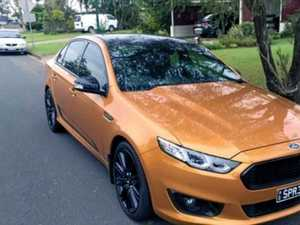 Car thieves make off with powerful limited edition sedan