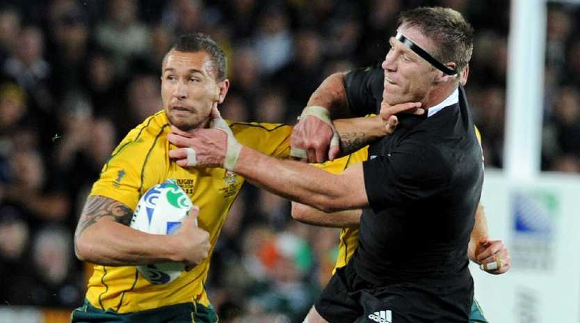 Quade Cooper's talents should be utilised by the Reds, former Wallaby and Reds outside back Greg Martin says.