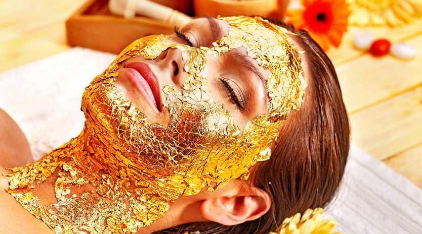 24-Carat Gold facial at Emirates Palace. Picture: Emirates Palace Hotel