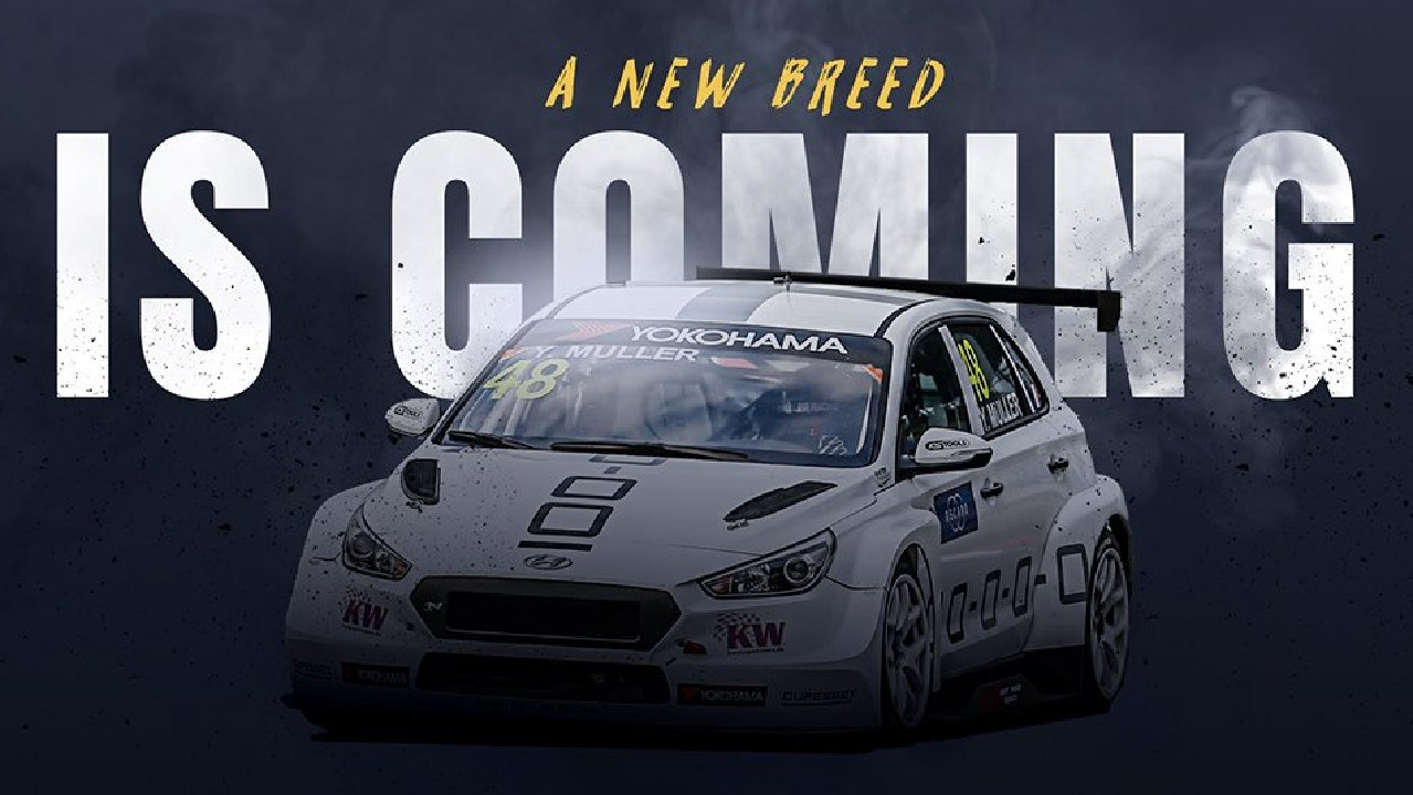The image the TCR Series posted to social media on Thursday.