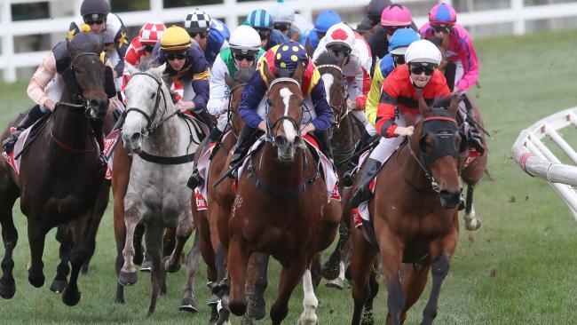 The Victorian Jockeys Association is seeking a better deal for its members. Picture: David Crosling