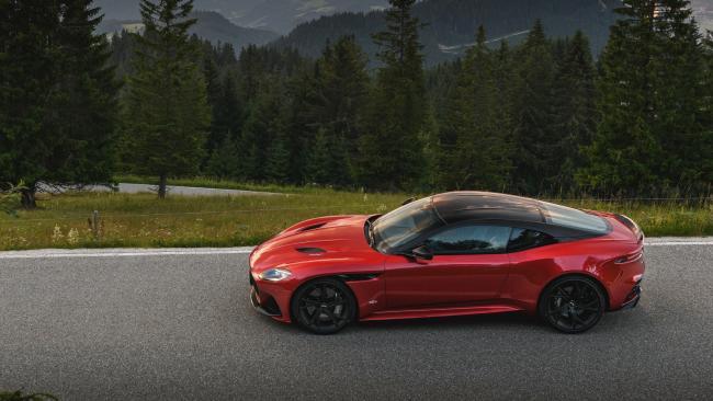 Slip stream: The Aston Martin DBS Superleggera borrows aerodynamic features from the track-only Vulcan.