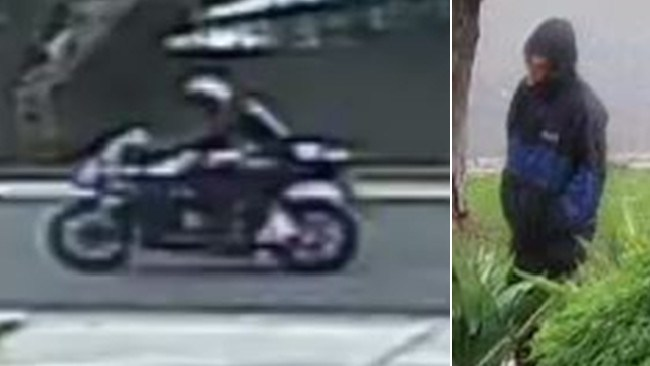 Police release two images of a man wanted over Cowes murder. Victoria Police
