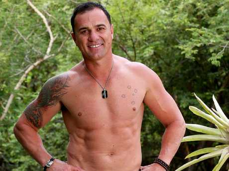 Shannon Noll on I'm A Celebrity Get Me Out Of Here Picture: Channel 10