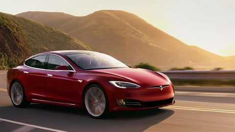 Supercar performance: The Tesla Model S P100D sets the electric performance benchmark.