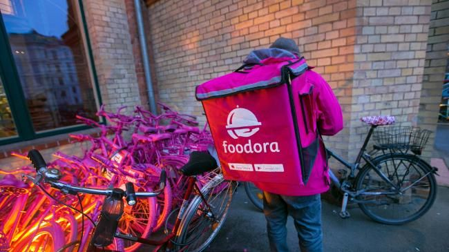 Foodora has announced its abrupt departure from Australia. Picture: Krisztian Bocsi/Bloomberg