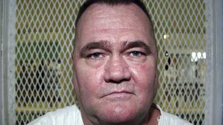 Murderer Cleve Foster told Graczyk about 'getting bounced around in the prison van' as he was being taken to the execution that didn't take place. He had two reprieves before finally being executed in 2012. Picture: AP Photo/Michael Graczyk