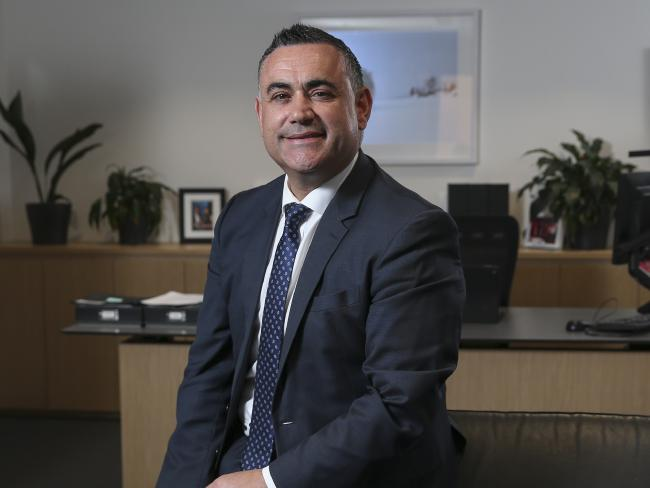 Deputy Premier John Barilaro has warned the government about disillusioned young men in the country. Picture: Justin Lloyd.