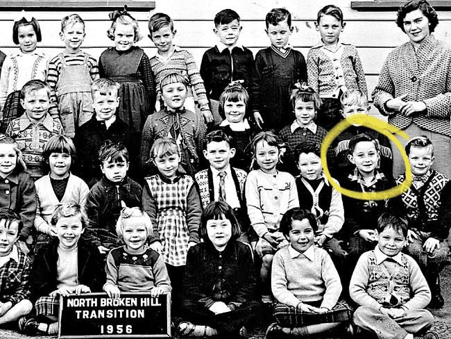 John Edwards as a child.