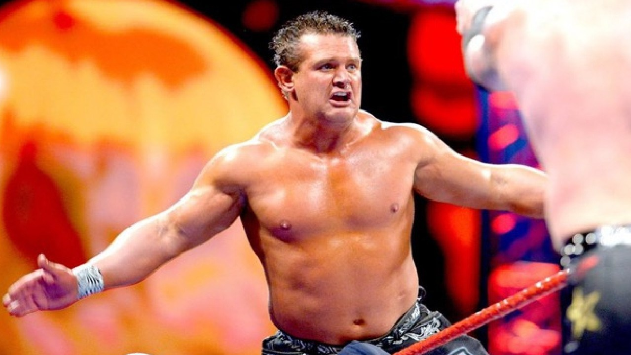 Brian Christopher Lawler as Grandmaster Sexay. Picture: WWE