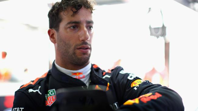 Daniel Ricciardo's future is still uncertain.