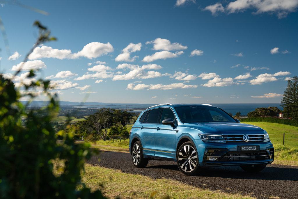 The new VW Tiguan Allspace.
