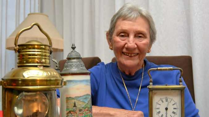 Tweed Gold Coast Family History and Heritage Association president Bev O'Hara may add to her own antiques collection at the upcoming fair.