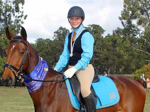 Prossie rider enjoys double success at State Champs