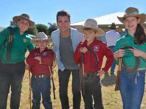GALLERY: Kingaroy students go wild for TV show