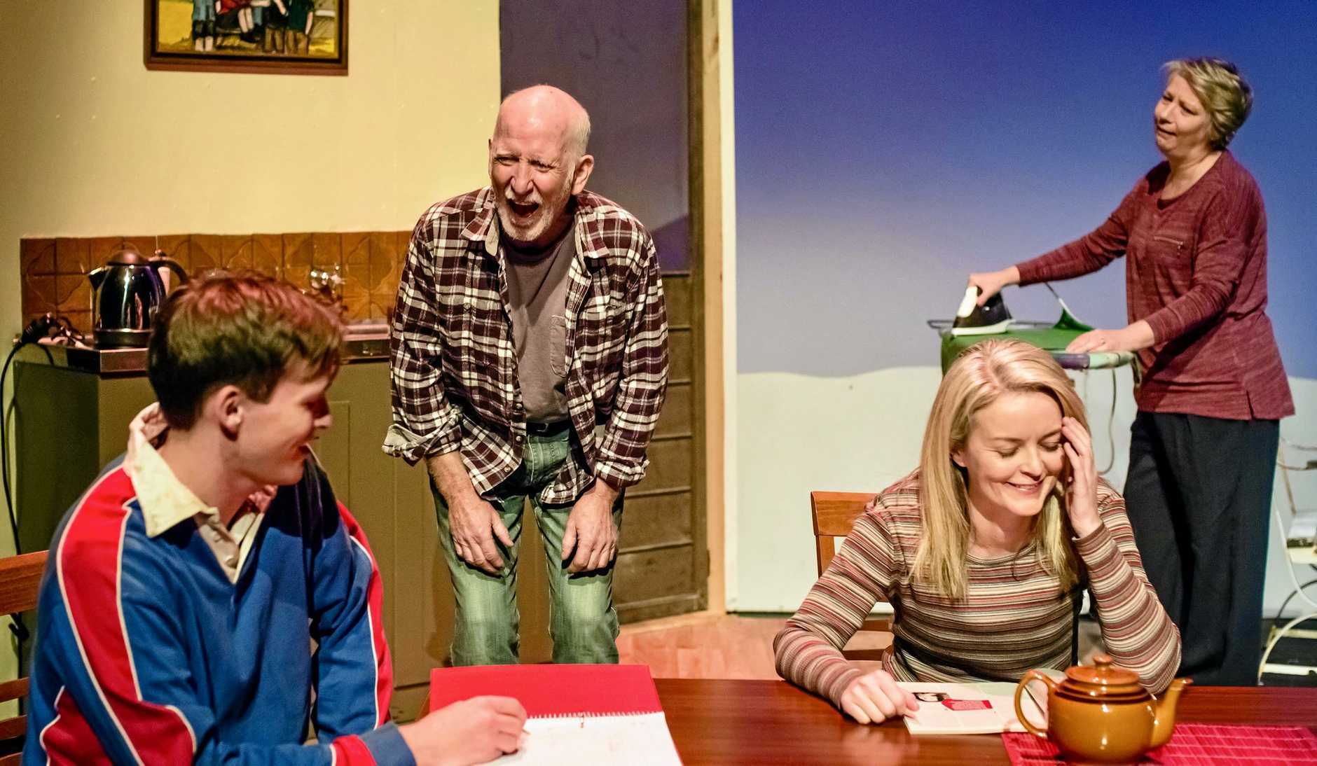 FAMILY CHAOS: Drama, comedy, what more could you want in an Aussie theatre play? Don't miss Hotel Sorrento at the MECC on September 29.