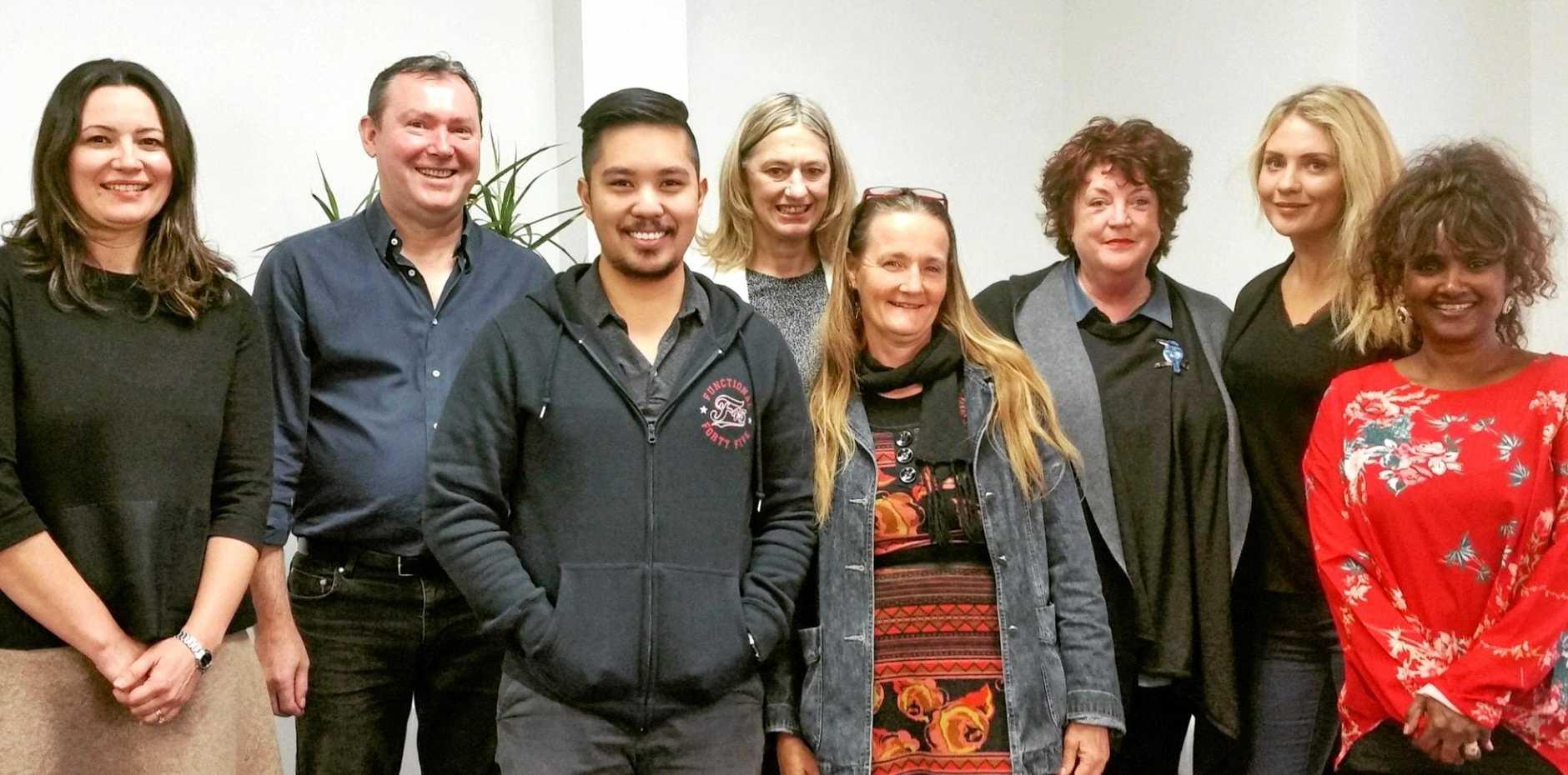 Maria Potiriadis, University of Melbourne, Steve Mann and the Link-me team