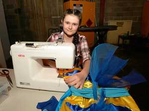 Enterprising teenager's sewing sideline takes centre stage