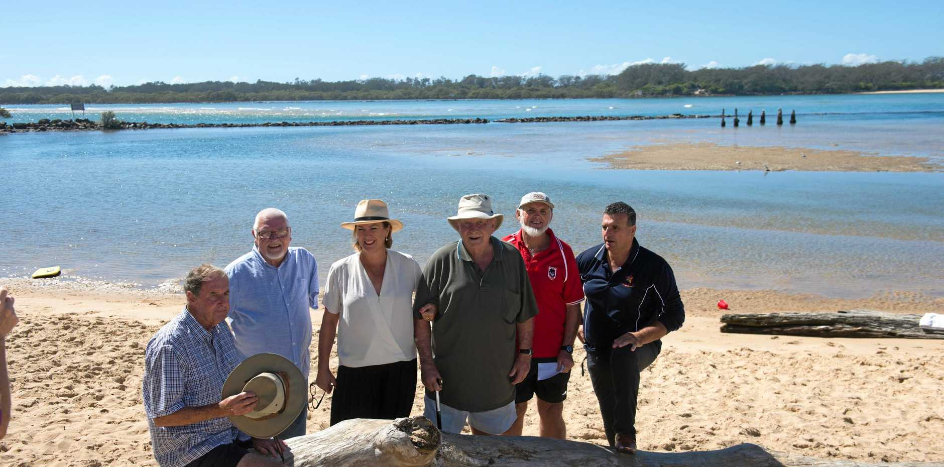Melinda Pavey, pictured with members of the Urunga Tidal Pool Action Group, announced funding for the revitalisation of the facility in April this year.