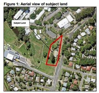 Proposed site at 22 McKenzie Road, Woombye.