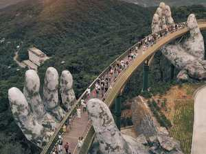 New Golden Bridge hands in Vietnam has everyone talking