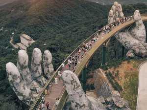 New Golden Bridge hands in Vietnam has everyone talking