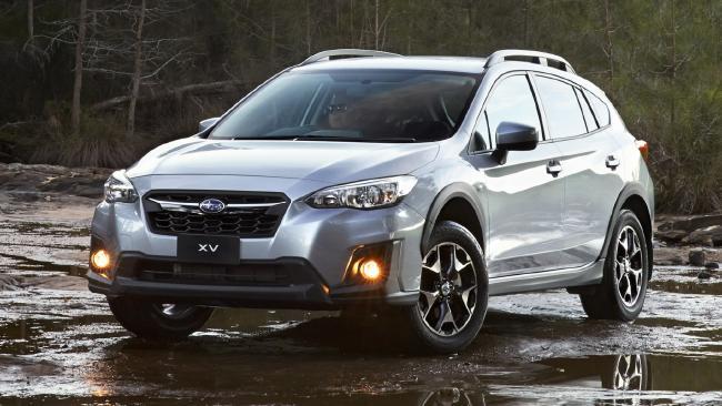 The Subaru XV.