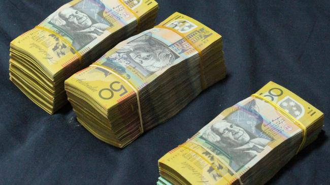 Officers seized thousands in cash in the raids.