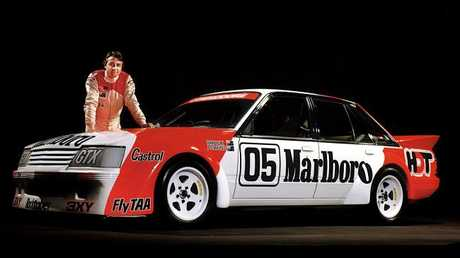 Peter Brock with the