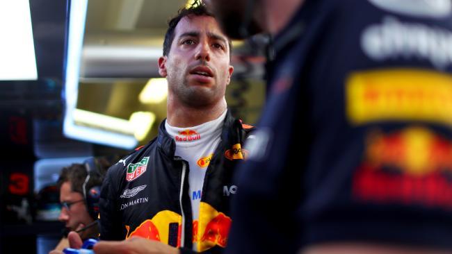 Red Bull Racing's Daniel Ricciardo.