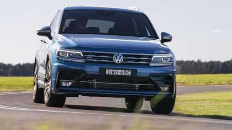 In-betweener: Tiguan Allspace's longer wheelbase aids ride comfort as well as 5+2 layout