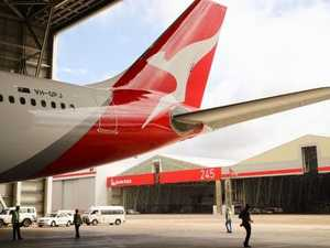 Flying high: Qantas posts record profit