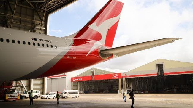 Qantas profit up 15 per cent to $980 million.