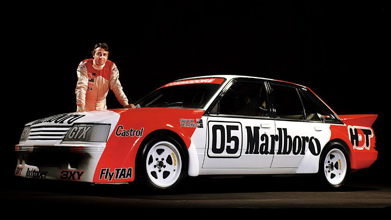 Peter Brock with his 1984
