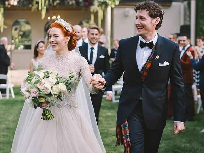 Emma Watkins and Lachlan Gillespie had their wedding in Bowral in 2016.