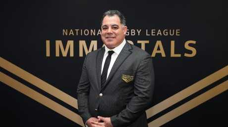 Mal Meninga was made an Immortal on Wednesday night. Picture: Brett Costello.