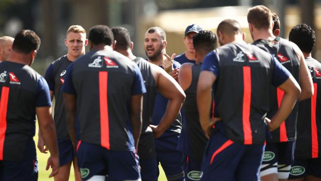 The Wallabies are desperate to avoid an historic loss to England.
