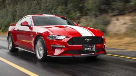 "Mustang GT Fastback: The 5.0-litre V8 is ""The Engine from Heaven"""