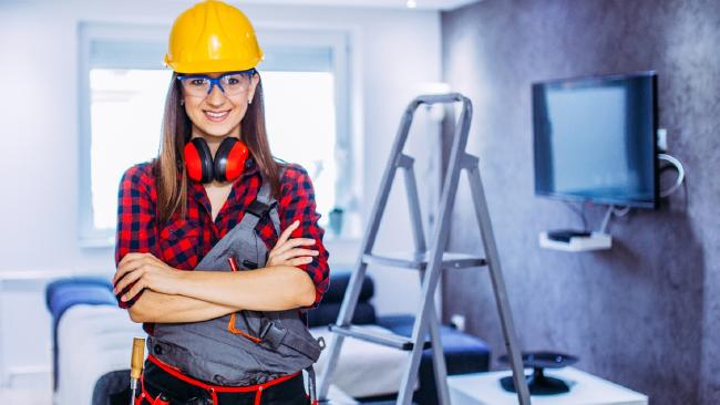 Salaries for some trade jobs are as much as 27 per cent higher than five years ago. Picture: iStock