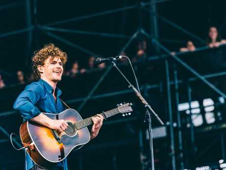 Australian singer songwriter Vance Joy will perform at this year's One Night Stand annual gig. Picture: Charles Reagan Hackleman