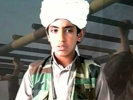 Undated photo of Hamza bin Laden, son of alleged terrorist Osama bin Laden. Picture: Supplied